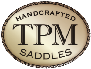 Tom and Annabel both ride in TPM saddles. The craftsmanship is second to none!
