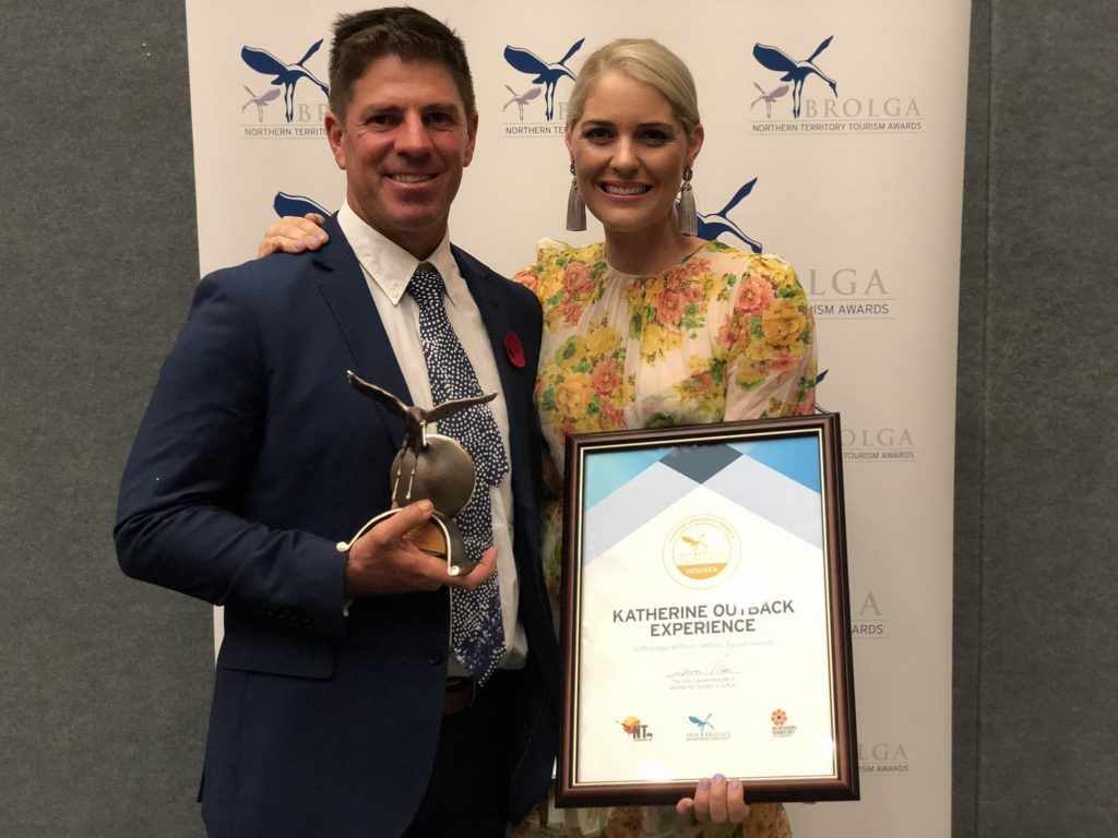 Katherine Outback Experience wins at NT Tourism Awards